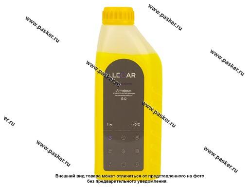 Антифриз LECAR G12  1 кг желтый