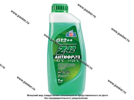Антифриз AGA-42 048Z 1кг зеленый