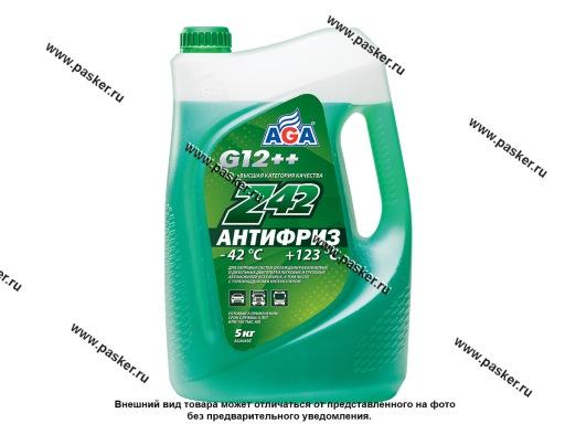 Антифриз AGA-42 049Z 5кг зеленый