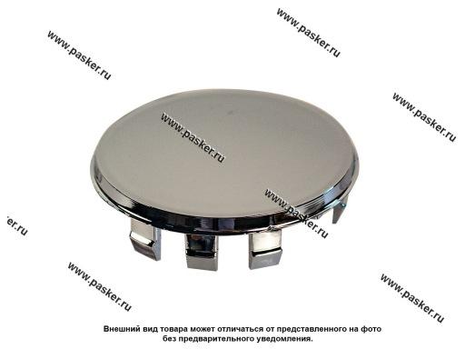 Заглушка литого диска D55 сфера хром