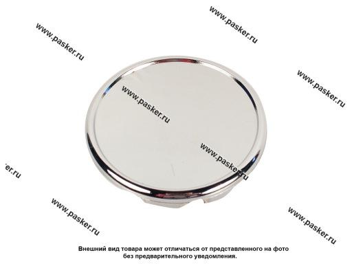 Заглушка литого диска D58 сфера хром