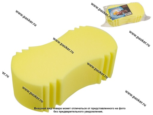 Губка  Garde для мытья автомобиля Арахис MEDIUM 220х120х70 GP1610