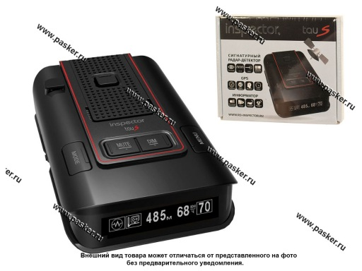 Антирадар (радар-детектор) INSPECTOR TAU S GPS signature