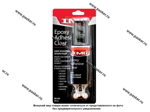 Клей эпоксидный IMG 25мл прозрачный MG-426
