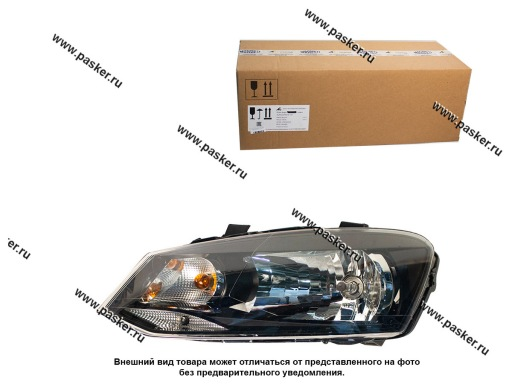 Блок фара WV Polo sedan Automotive Lighting левая 101
