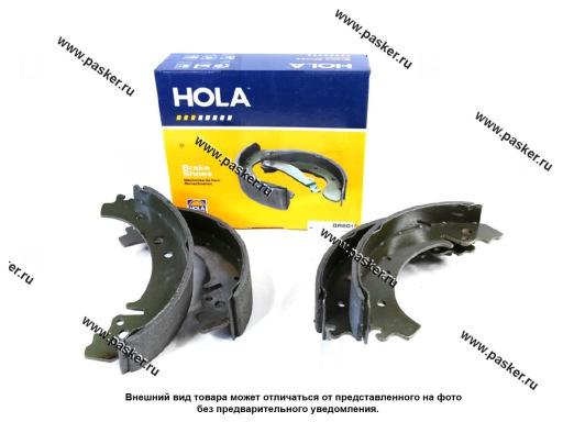 Колодки тормозные 2101-07 2121-213 2123 Chevrolet Niva задние HOLA барабанные BR801