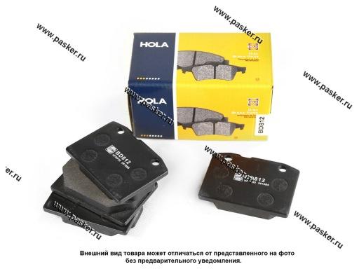 Колодки тормозные 2101-07 передние HOLA BD812