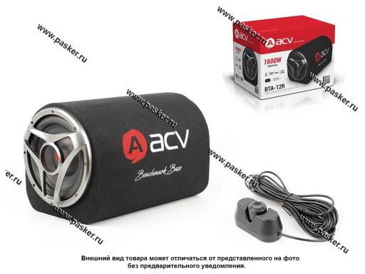 Сабвуфер активный ACV BTA-8R 1600Вт 200мм выносной бас буст