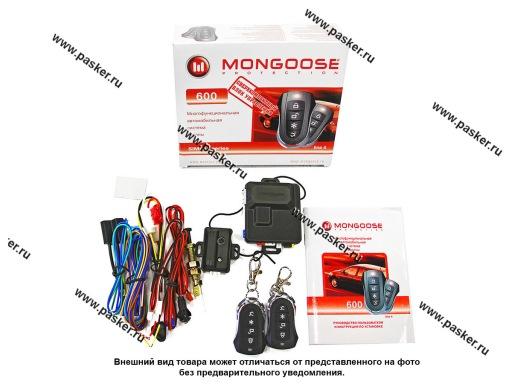 Автосигнализация Mongoose 600 line4 турбо-таймер