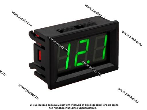 Вольтметр ACV RM37-VTR12G зеленая подсветка