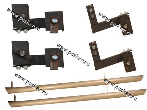 Порог-подножка дополнительный LADA Largus труба
