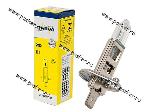 Лампа галоген 12V H1 55W P14.5s NARVA 48320